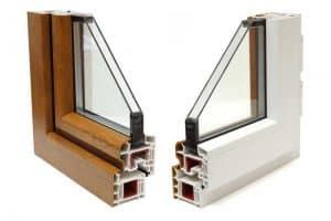 binnenkant van dubbel glas